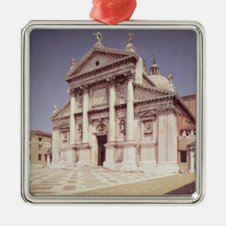 View of the facade, built 1607-11 christmas ornament
