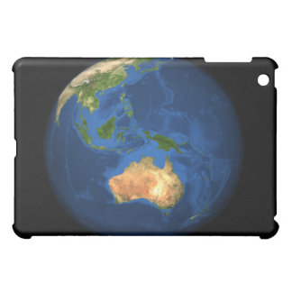 View of the full Earth showing Indonesia, Ocean iPad Mini Cover