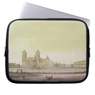 View of the main square in Mexico City (colour eng Laptop Sleeve