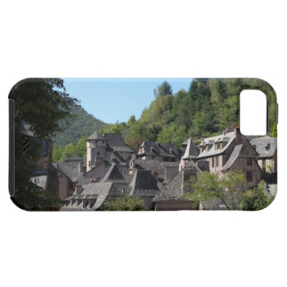 View of the medieval village (photo) iPhone 5 covers