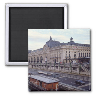 View of the Musee d'Orsay from the north-west Square Magnet