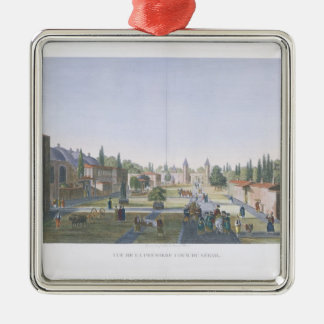 View of the Outer Courtyard of the Seraglio, Topka Christmas Ornament