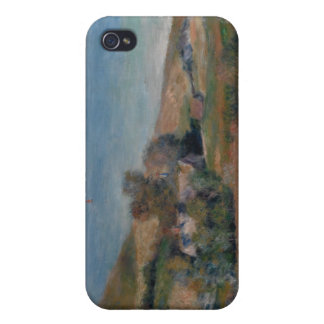 View of the Seacoast near Wargemont - Renoir iPhone 4 Cover