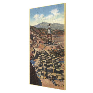 View of the Shasta Dam Canvas Print