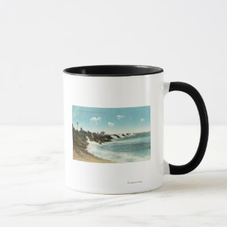 View of the Surf and Breakwater Mug