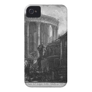 View of the Temple of the Sibyl at Tivoli by Giova Case-Mate iPhone 4 Case