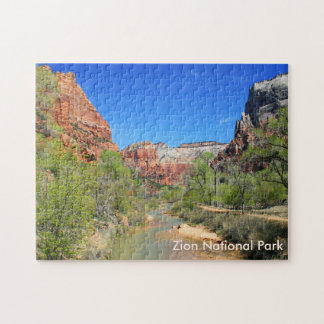 View of the Virgin River 1 Jigsaw Puzzle