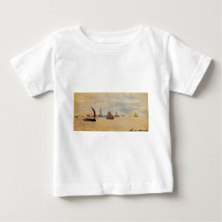 View of the Voorzaan by Claude Monet Baby T-Shirt