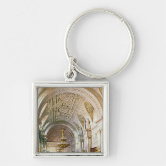 View of the White Hall in the Winter Palace Key Ring