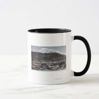 View of Town and Mount DeweySkagway, AK Mug