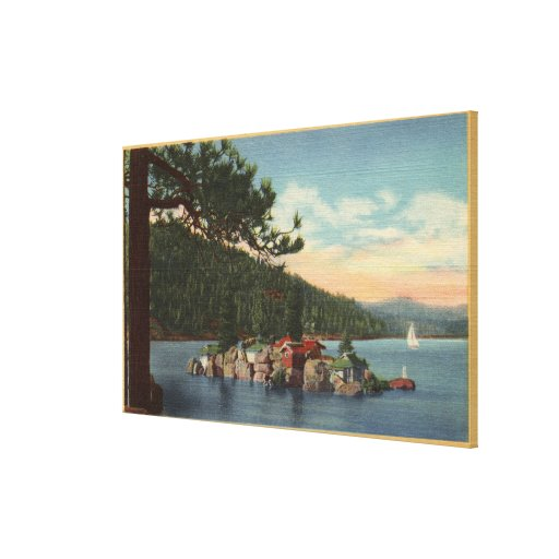 View of Treasure Island Canvas Prints
