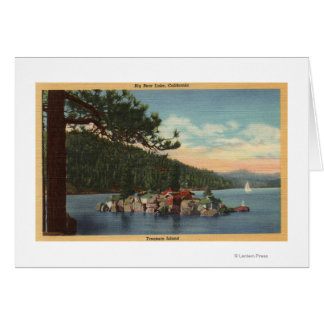 View of Treasure Island Greeting Card