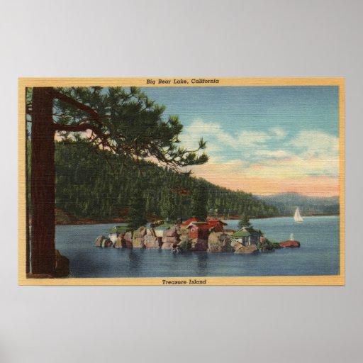 View of Treasure Island Print