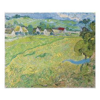 View of Vessenots Near Auvers by Vincent Van Gogh Photographic Print