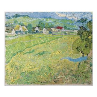 View of Vessenots Near Auvers by Vincent Van Gogh Photograph