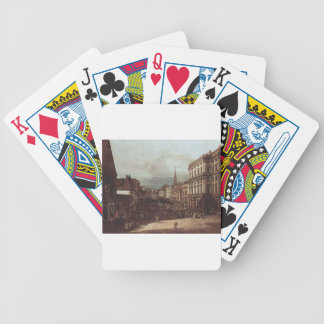 View of Vienna, flour market of Southwest Bicycle Poker Deck