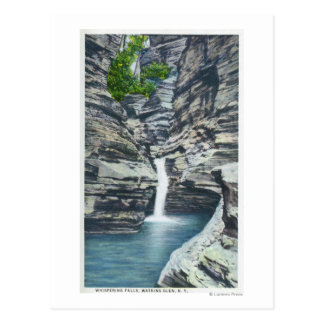 View of Whispering Falls Postcard