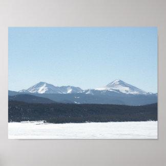 View over Lake Dillon 2 Poster