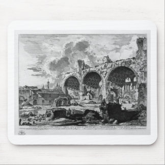 View the remains of Nero`s Golden House Tablino Mouse Pad