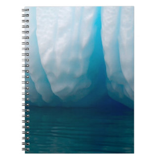 Viewing icebergs in blue in the Errera Channel Notebook