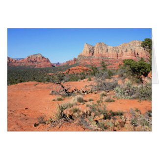 Views from Bell Rock Greeting Card