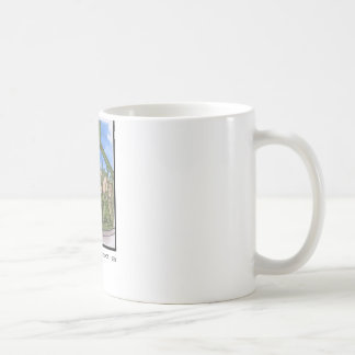 Views of San Luis Obispo, Oil Pumps Basic White Mug
