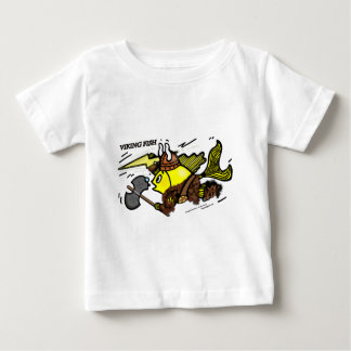 Viking Fish funny cute sparky comic medieval Baby T-Shirt