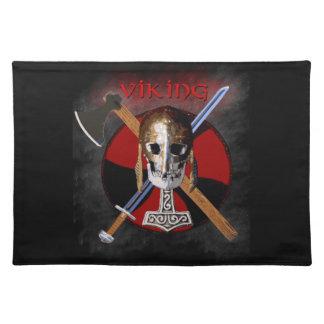 VIKING - Shield Skull Placemat