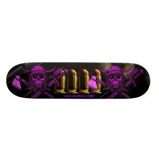 Viking skull cool skateboard