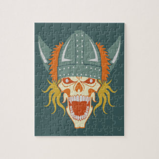 VIKING skull custom puzzle