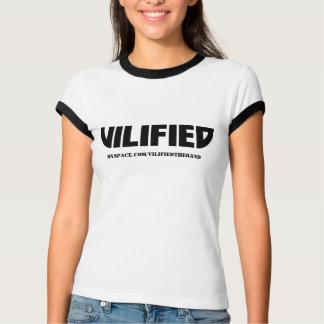 VILIFIED Ladies Ringer T-shirt