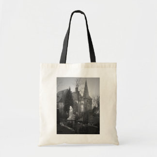 Village Church and Cemetery Tote Bag