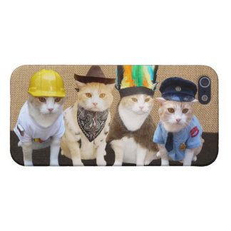 Village Kitties Cover For iPhone 5/5S