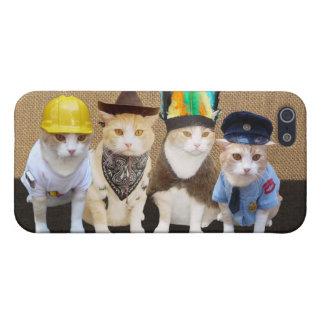 Village Kitties iPhone 5/5S Covers