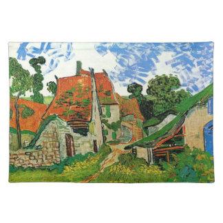 Village Street in Auvers, Vincent van Gogh Placemat
