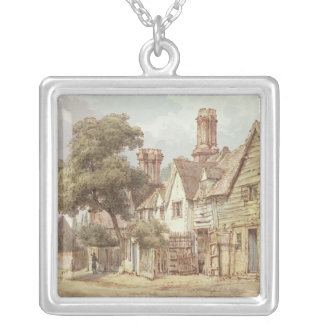 Village Street Silver Plated Necklace