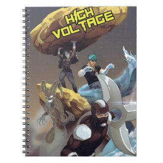 Villains of High Voltage: Photo Notebook