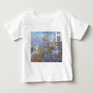 Villas at Bordighera by Claude Monet Baby T-Shirt