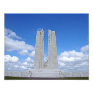 Vimy Ridge War Memorial Photographic Print
