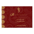 Vinayaka Wedding RSVP Cards
