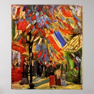 Vincent Van Gogh - 14th Of July Celebration Poster