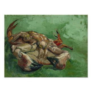 Vincent van Gogh - A Crab on its Back Photo Print
