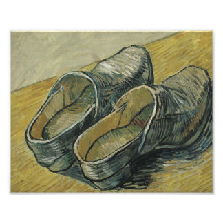 Vincent Van Gogh A Pair Of Leather Clogs Photo