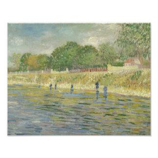 Vincent van Gogh - Bank of the Seine Photo Print