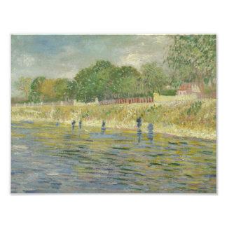 Vincent van Gogh - Bank of the Seine Photographic Print