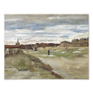 Vincent van Gogh - Bleaching Ground Photograph