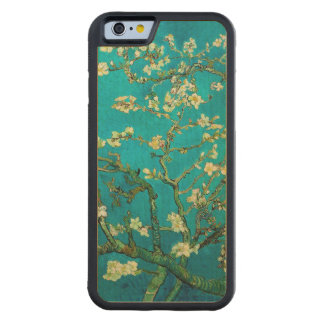 Vincent Van Gogh Blossoming Almond Tree Floral Art Carved Maple iPhone 6 Bumper Case