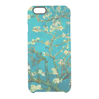 Vincent Van Gogh Blossoming Almond Tree Floral Art Clear iPhone 6/6S Case