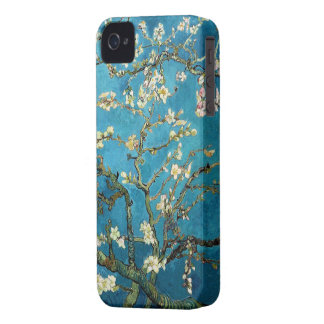 Vincent van Gogh, Blossoming Almond Tree iPhone 4 Covers