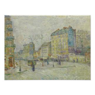 Vincent van Gogh - Boulevard de Clichy Photographic Print